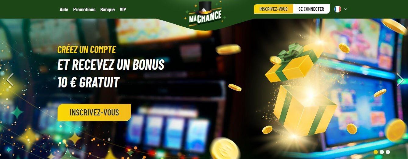 Casino machance: avis et critiques constructifs sur le site
