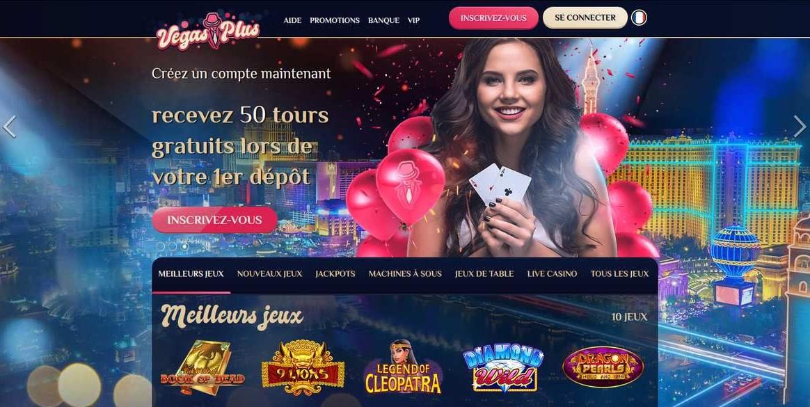 Casino vegas plus avis, un site moderne avec une grande collection de jeux